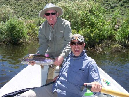 South Fork rainbow trout fly fishing