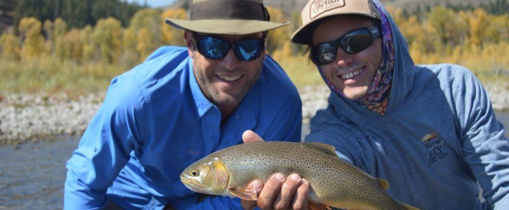 Fly fishing Jackson Hole September